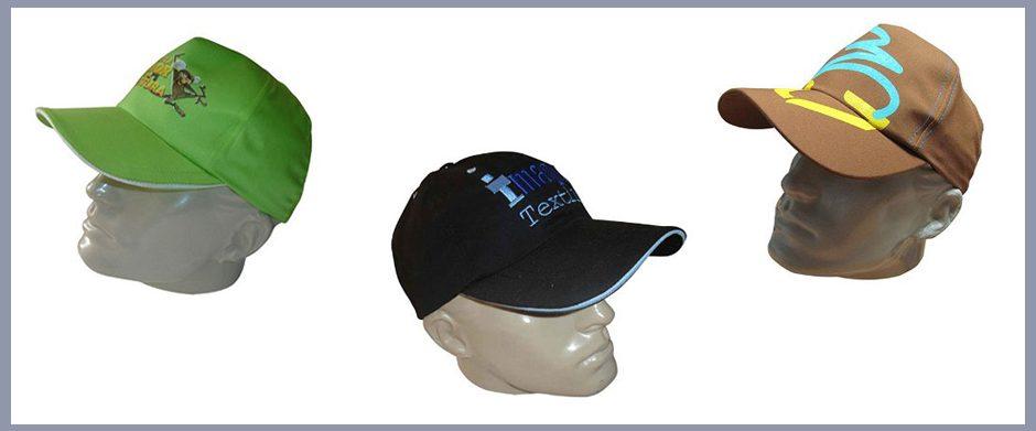 gorras en gabardina