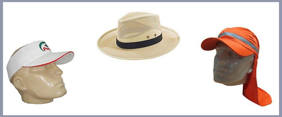 variedad estilos gorras